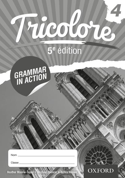 Tricolore 4 Grammar In Action Workbook 5E