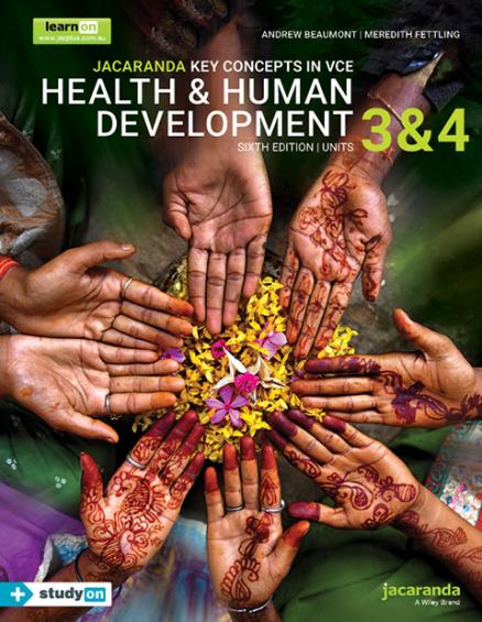 Key Concepts VCE Health and Human Development Units 3&4 6E (DIGITAL)