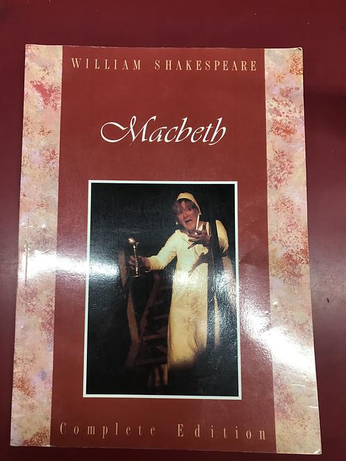 Student School Shakespeare Macbeth (SECOND HAND)