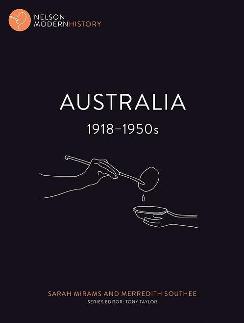 Nelson Modern History: Australia 1918 – 1950s