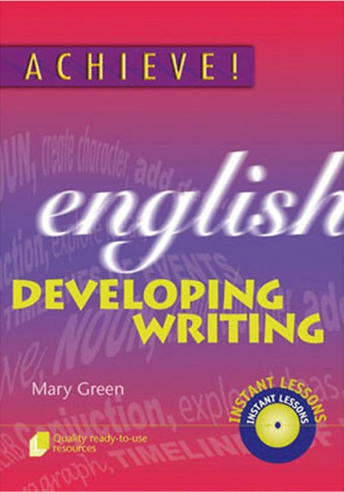 Achieve! English Developing Writing