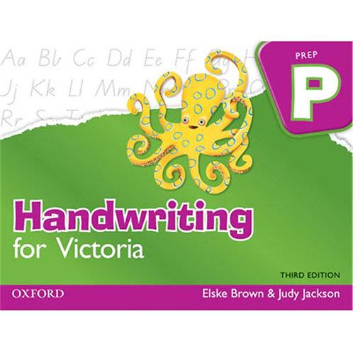 Handwriting for Victoria Prep 3E