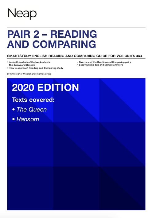 NEAP Smartstudy Reading and Comparing: The Queen/Ransom
