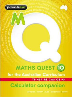 Maths Quest 10 for the Australian Curriculum TI-Nspire Calculator Companion