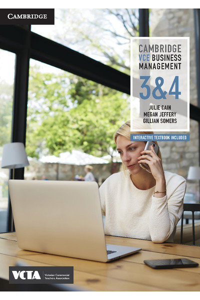 Cambridge VCE Business Management Units 3&4 (PRINT + DIGITAL)