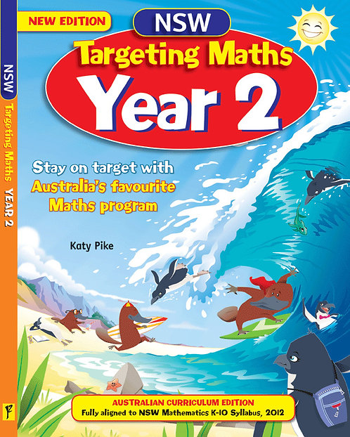 Targeting Maths NSW Student Book: Year 2