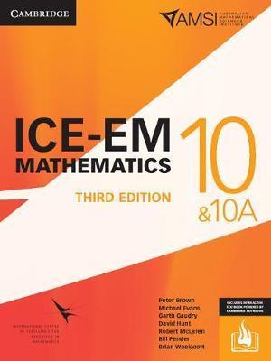 ICE-EM Mathematics Year 10 3E (PRINT + DIGITAL)