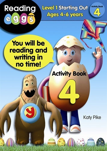 ABC Reading Eggs Activity Book 4 Level 1 Beginning to Read Ages 5-7