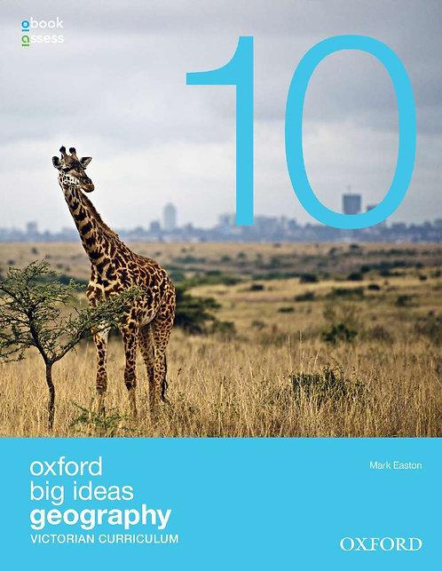 Oxford Big Ideas Geography 10 Victorian Curriculum (PRINT + DIGITAL)