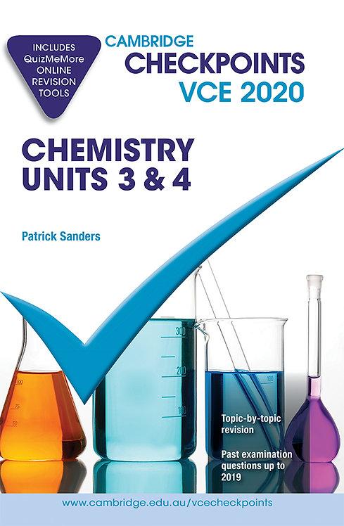 Cambridge Checkpoints VCE Chemistry Units 3&4 2020