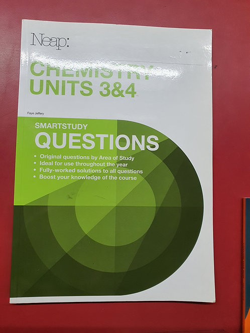 Chemistry Units 3&4 Questions Guide (2017 Ed)