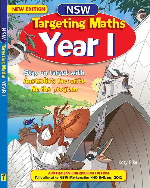 NSW Targeting Maths Year 1 Student Book Australian Curriculum Edition