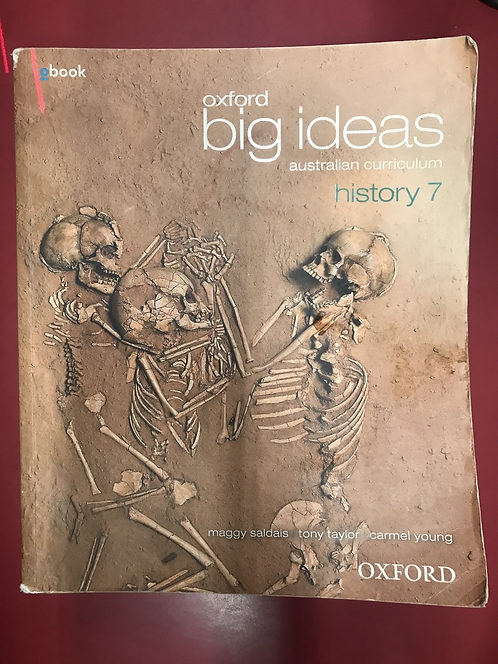 Oxford Big Ideas History 7 Australian Curriculum (SECOND HAND)
