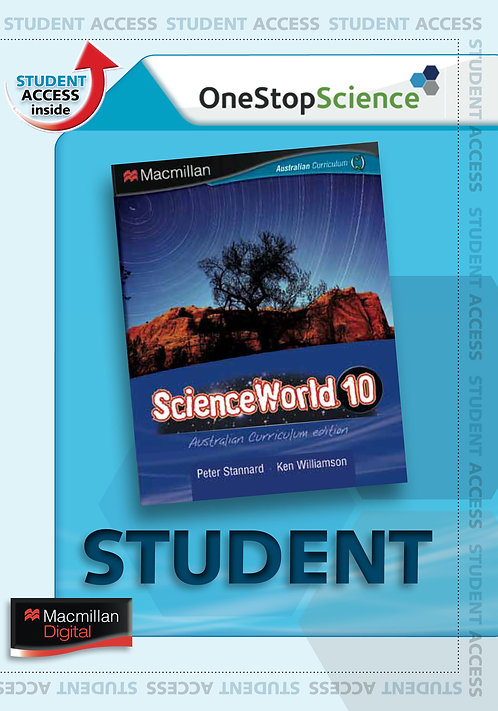 Macmillan ScienceWorld 10 Australian Curriculum Digital Book 4E (DIGITAL)