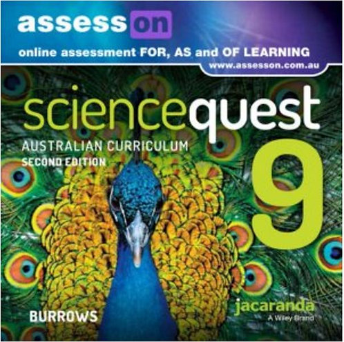 Jacaranda Science Quest 9 for the Australian Curriculum 2E AssessON (DIGITAL)