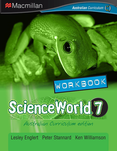 Macmillan ScienceWorld 7 Australian Curriculum Workbook 4E