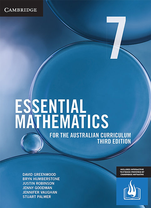 Essential Mathematics for the Australian Curriculum Year 7 3E (DIGITAL)