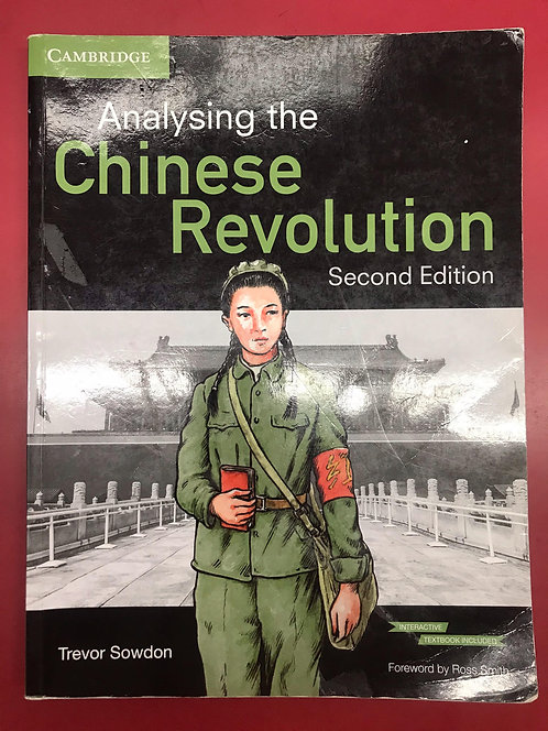 Analysing the Chinese Revolution 2E (SECOND HAND)