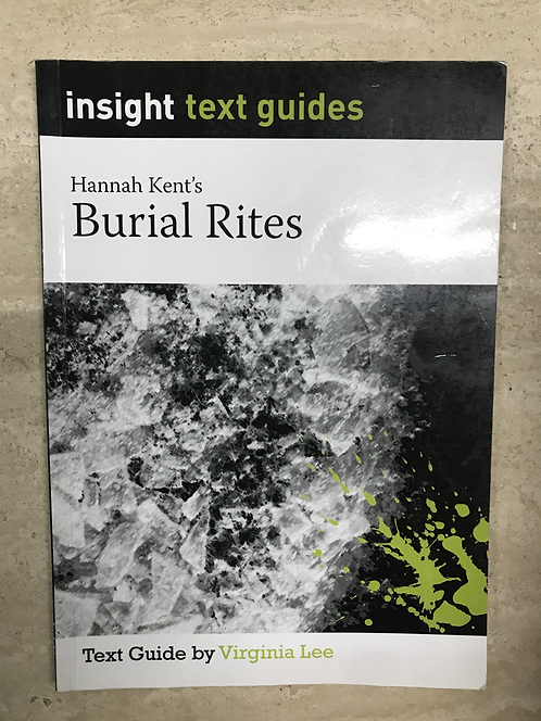 Insight: Burial Rites (SECOND HAND)