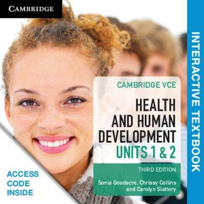 Cambridge VCE Health and Human Development Units 1&2 3E (DIGITAL)
