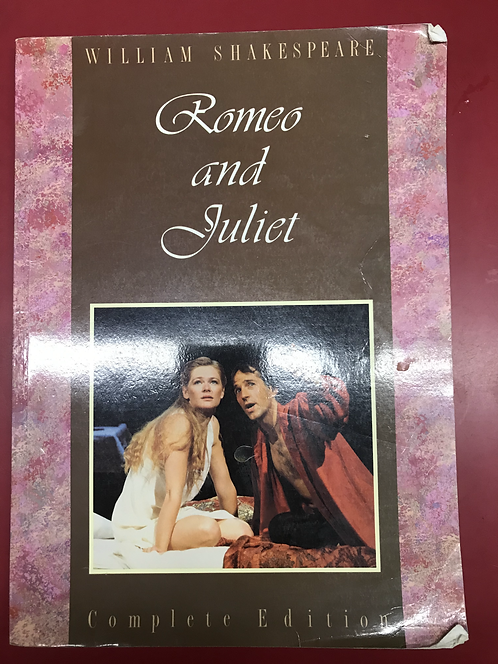 Student School Shakespeare Romeo and Juliet (SECOND HAND)