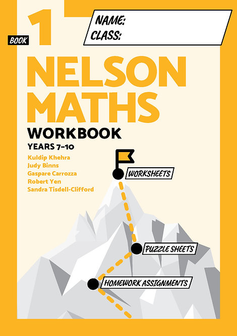 Nelson Maths Workbook 1
