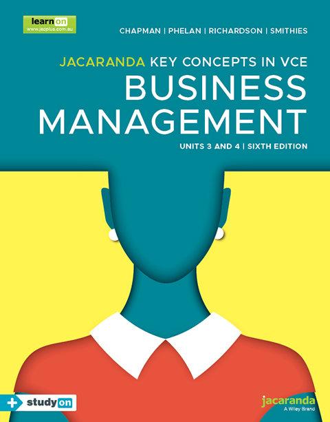 Key Concepts Business Management Units 3&4 6E (DIGITAL)