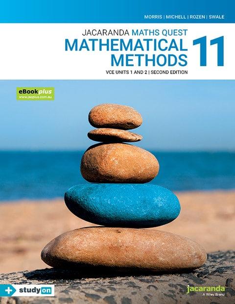 Jacaranda Maths Quest 11 Mathematical Methods VCE U1&2 2E eBookPLUS (DIGITAL)
