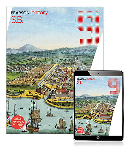 Pearson History 9 Student Book with Reader+ (PRINT +DIGITAL)