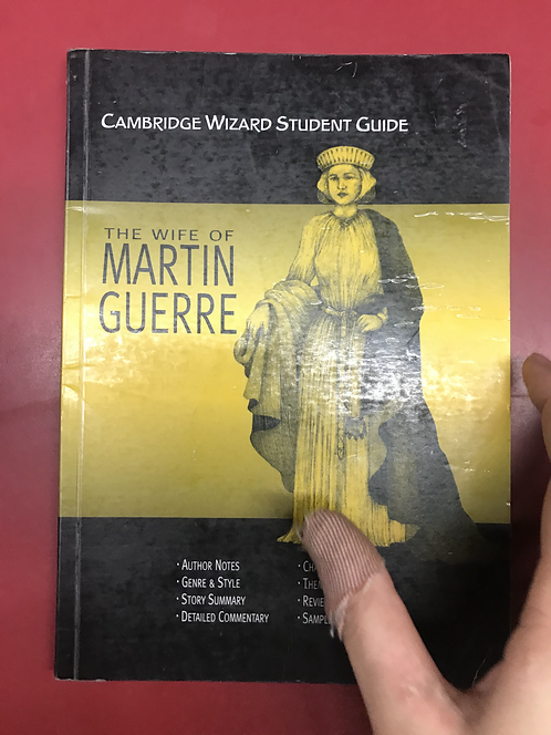 Cambridge Wizard Student Guide: The Wife of Martin Guerre (SECOND HAND)