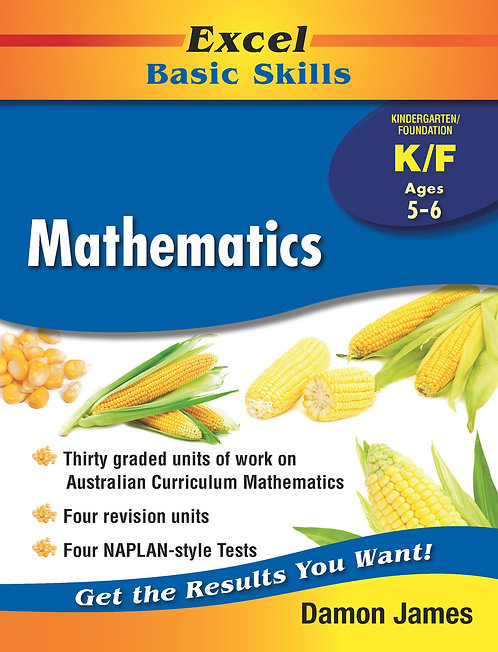 Excel Basic Skills Core Books: Mathematics Kindergarten/Foundation