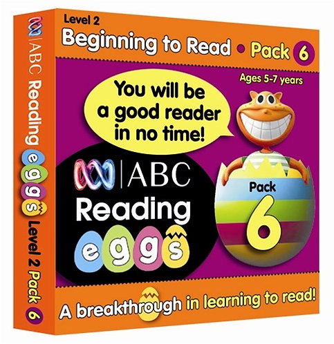 ABC Reading Eggs Level 2 Beginning to Read: Book Pack 6 Years 5-7