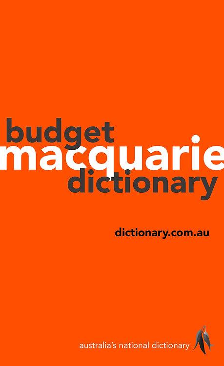 Macquarie Budget Dictionary