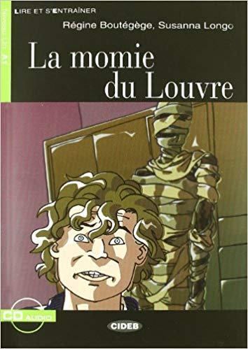 Momie du Louvre Book + CD - Lire et s'entrainer A1
