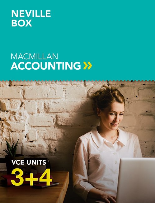 Macmillan Accounting VCE Units 3&4 Value Bundle 6E (PRINT + DIGITAL)