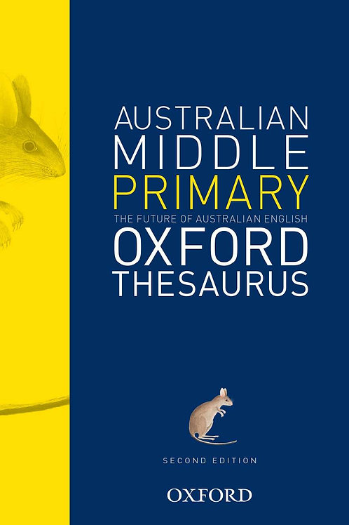 Australian Middle Primary Thesaurus 2E