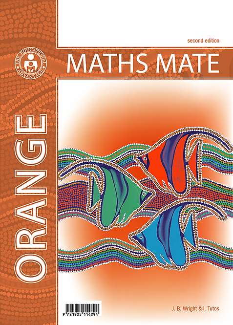 Maths Mate 3 Orange Student Pad 2E