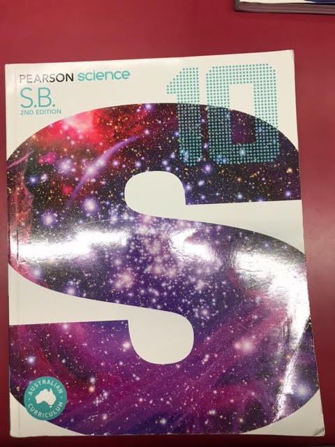 Pearson Science 10 2E Student Book (SECOND HAND)