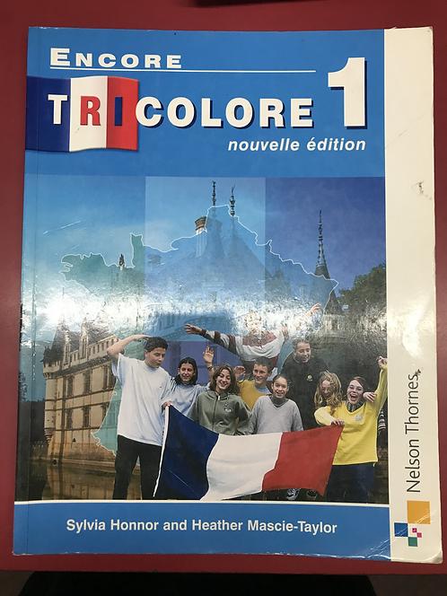 Encore Tricolore 1 nouvelle edition (SECOND HAND)