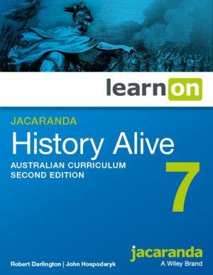 Jacaranda History Alive 7 Australian Curriculum LearnON 2E (DIGITAL)