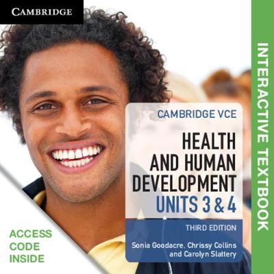 Cambridge VCE Health and Human Development Units 3&4 3E (DIGITAL)