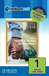 Nelson Health & Human Development VCE Units 1&2 (DIGITAL)