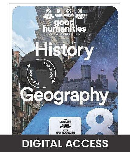 Good Humanities 8 Victorian Curriculum DIGITAL