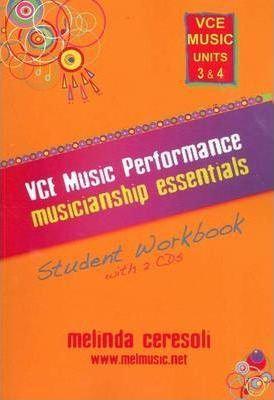 VCE Music Performance Musicianship Essentials : Student Workbook