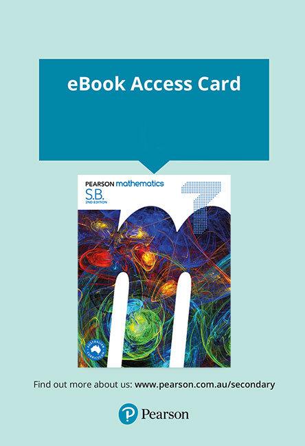 Pearson Mathematics 7 Reader+ Access Card 2E (DIGITAL)