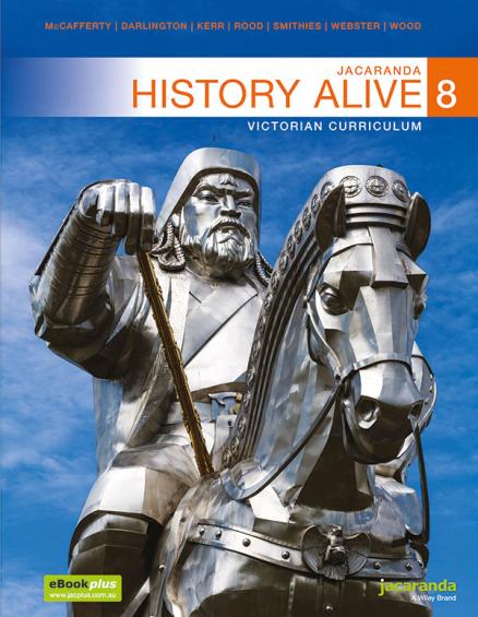 Jacaranda History Alive 8 Victorian LearnON & Print + World History Atlas