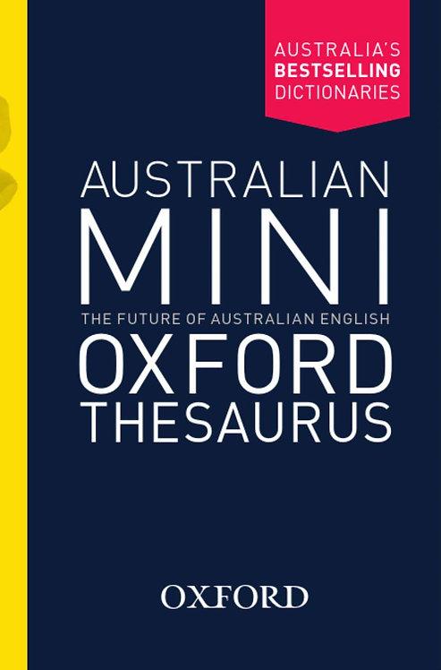 Australian Mini Oxford Thesaurus