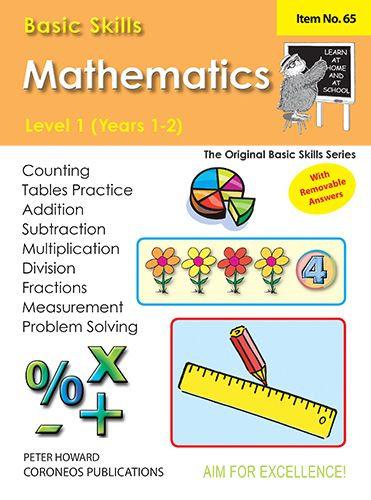 Basic Skills Mathematics Level 1 Yrs 1 - 2 (Basic Skills No. 65)