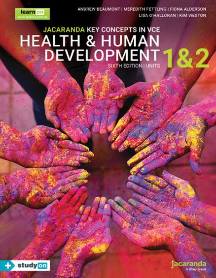 Key Concepts VCE Health and Human Development Units 1&2 6E (DIGITAL)
