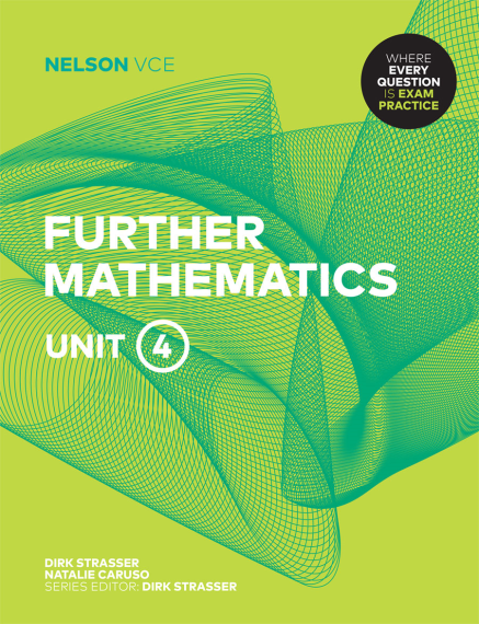 Nelson VCE Further Mathematics Unit 4 Print + 4 Access Codes (PRINT + DIGITAL)
